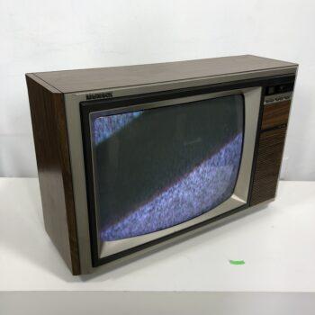 80s tv prop rental wood magnavox