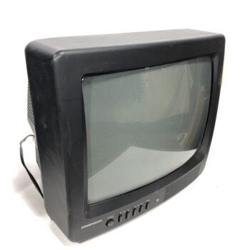 90S 13 INCH TV PROP BLACK DAEWOO