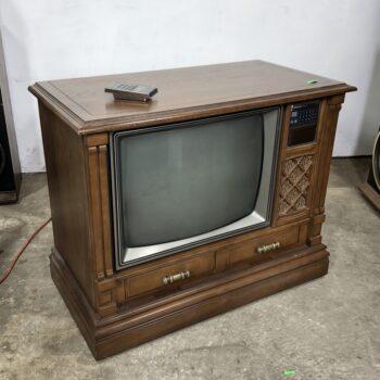 VINTAGE CONSOLE TV PROP RENTAL NY