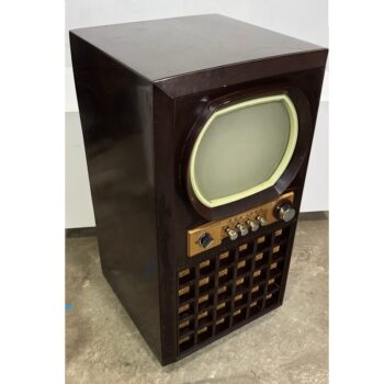 vintage admiral console tv prop rental