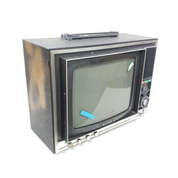 vintage sony trintitron TV CRT prop rental new york