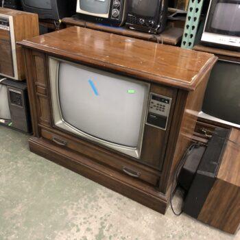 vintage tv prop rentals philco console