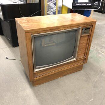 vintage tv prop rentals - sylvania console tv