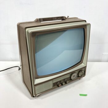 working 1960s tv prop rental black and white ny