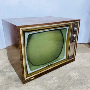 1950s console tv prop rental new york