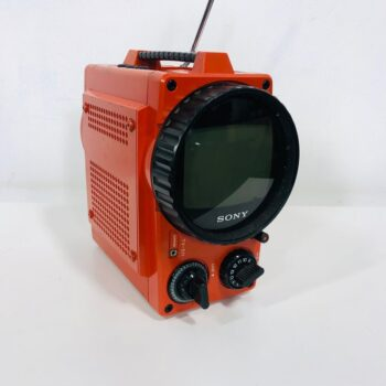 70S ORANGE TV PROP RENTAL