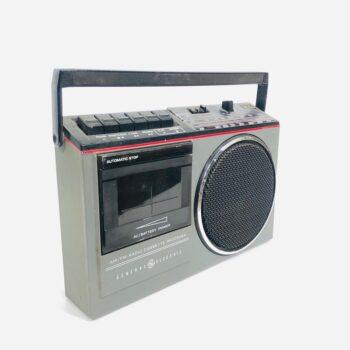 GE vintage boombox prop NEW YORK