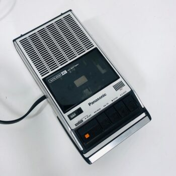 vintage panasonic tape recorder nyc prop rentals