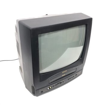 13 inch philips tv and VCR combo prop rental