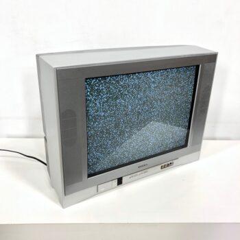 2000s early wide screen flat tv prop rental