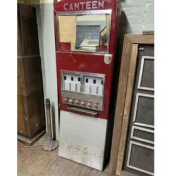50s canteen vending machine prop rental ny