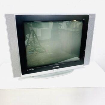 early flat crt tv props