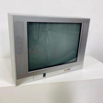 early wide screen flat tube TV 2000s prop rental