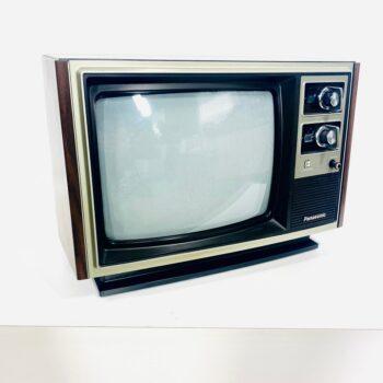 panasonic tv prop rental siler and wood