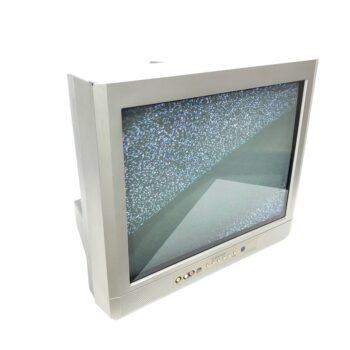 silver emerson tabletop prop tv ny