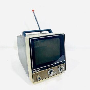 sony vintage portable tv prop rental