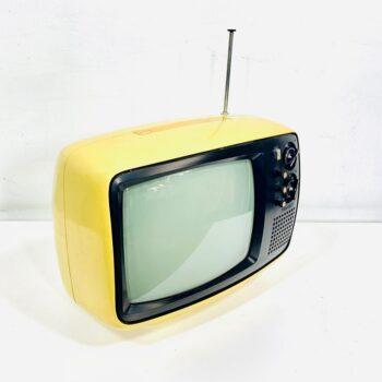 vintage 70s yellow tv prop rental