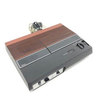 vintage answering machine prop rental wood