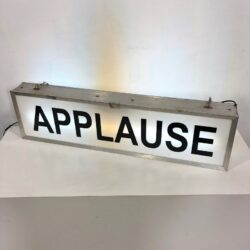 vintage applause sign prop rental new york ny