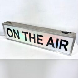 vintage on the air sign prop rental ny