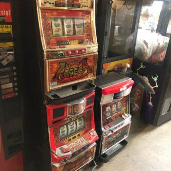 vintage token japanese slot machine prop rentals