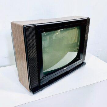 vintage wood tv 80s prop rental