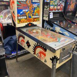 70s pinball machine prop rental Big Indian Chief